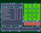 Fantasy Manager: The Computer Game Amiga Choosing my team