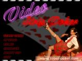 Video Strip Poker Windows Main Menu.