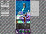 The 'Jongg CD! Windows Moretris - the bundled Tetris clone game