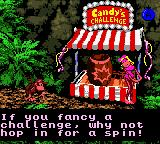 Donkey Kong Country Game Boy Color In GBC version, Candy Kong will give (in each world) a challenge to you complete: finish' em all!