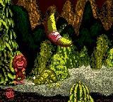 Donkey Kong Country Game Boy Color Really Gnawty was defeated and DK receives the respective reward: one big banana with a famous logo printed...