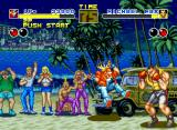 "Fatal Fury Neo Geo The jeep cushioned the impact in the ""H"" hour, boy..."