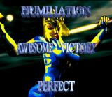 Killer Instinct SNES Victory screen, starring... B. Orchid!