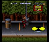 The Incredible Crash Dummies SNES Jump onto the spinner to go to the next zone