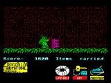 Little Puff in Dragonland ZX Spectrum It's possible to open this door with key 22