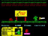 Little Puff in Dragonland ZX Spectrum Little Puff just entered his home Dragonland