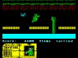 Little Puff in Dragonland ZX Spectrum Very last obstacle is a sea serpent here