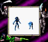 Killer Instinct Game Boy Fulgore's double-cannon tank (a finishing move) returns in Game Boy version with the same power and impact.