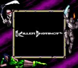 Killer Instinct Game Boy Title screen (in Super Game Boy).