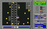 Plutos Atari ST A wave encircles you on level 3