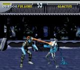 Killer Instinct SNES Other Fulgore's finishing move: a powerful laser gust shooted from its eyes!
