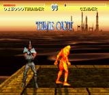 Killer Instinct SNES The time decided: Chief Thunder is the winner!