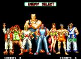Fatal Fury 2 Neo Geo The option to choose the 1st enemy returns from the previous game.