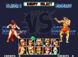 Fatal Fury Special Neo Geo Choosing the first enemy to fight: doubt!