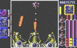 Quartz Atari ST End of Level Boss - destory all 3 blue blobs