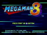 Mega Man 8: Anniversary Edition PlayStation Title Screen