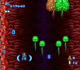 Blazing Lazers TurboGrafx-16 Level 4 is BRAINS