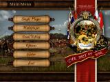 Cossacks: The Art of War Windows Main Menu