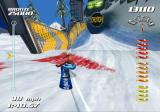 SSX Tricky GameCube Elise riding down Garabaldi...don't hit the fence!