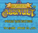 Somer Assault TurboGrafx-16 Title Screen
