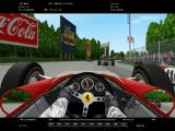 Grand Prix Legends Windows Ferrari in car driving shot at Monza