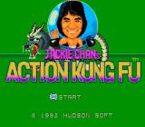 Jackie Chan's Action Kung Fu TurboGrafx-16 Title Screen