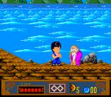 Jackie Chan's Action Kung Fu TurboGrafx-16 Meditate before revenge.