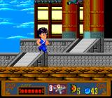 Jackie Chan's Action Kung Fu TurboGrafx-16 Enter the dojo.
