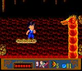 Jackie Chan's Action Kung Fu TurboGrafx-16 Mandatory Fire Level