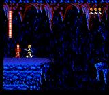 Star Wars NES Finding Obi-Wan Kenobi in a cave.