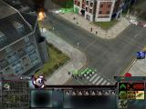 Act of War: Direct Action Windows With snipers you can fire at enemy infantry that are inside the buildings