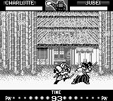Samurai Shodown Game Boy The environment: a peaceful bamboo forest... Peaceful? With a fight in course?!?