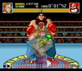 Super Punch-Out!! SNES Hitting Bear Hugger in the stomach may not be a good idea