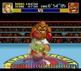 Super Punch-Out!! SNES Bald Bull is big, tough and likes to charge opponents