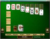 "Hoyle Solitaire Windows Klondike - the ""real"" name for the most common solitaire game"