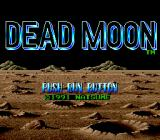Dead Moon TurboGrafx-16 Title Screen