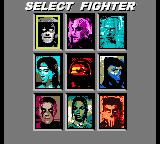 Mortal Kombat 4 Game Boy Color It's time to select a kombatant!