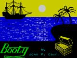 Booty ZX Spectrum Title screen