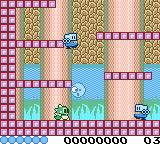Classic Bubble Bobble Game Boy Color Trapped an enemy inside a bubble