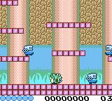 Bubble Bobble Game Boy Color Hit by an enemy