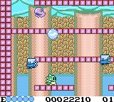 Classic Bubble Bobble Game Boy Color Burst the bubbles with water inside them to flood the entire round
