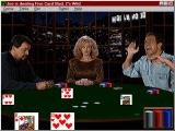Multimedia Celebrity Poker Windows 3.x Piscopo going wild. He's telling a joke, if you really want to know.