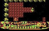 "Cloud Kingdoms DOS In Island Kingdom, you use the paintpots to ""paint"" new paths for yourself as you go. (CGA)"