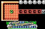 Cloud Kingdoms DOS Arrow Kingdom is nothing /but/ arrows and bumpers!  Only one gem to collect on the entire level. (EGA)