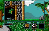 Little Puff in Dragonland Amiga Looks like end of the perilous catacombs