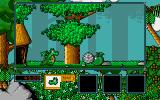 Little Puff in Dragonland Amiga Collect green apple for some extra points
