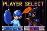 Mega Man & Bass Game Boy Advance Character Select