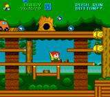 Parasol Stars: The Story of Bubble Bobble III TurboGrafx-16 The second area