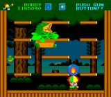 Parasol Stars: The Story of Bubble Bobble III TurboGrafx-16 Carrying a fireball to use against the boss