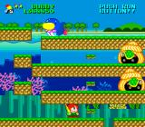 Parasol Stars: The Story of Bubble Bobble III TurboGrafx-16 Turtles coming out of their shells